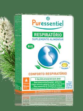 Puressentiel Respiratório Suplemento Alimentar Bio x30 Cápsulas
