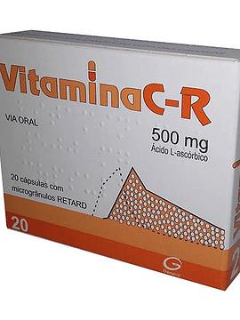 VitaminaC-R 500 Mg  x20 Cápsulas