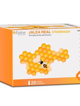 Farline GELEIA REAL Vitaminada  x20 Frascos Bebíveis de 10 Ml
