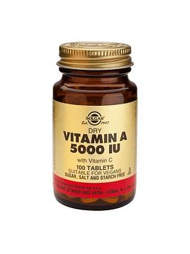 Solgar Vitamin A 5000iu 100 comprimidos