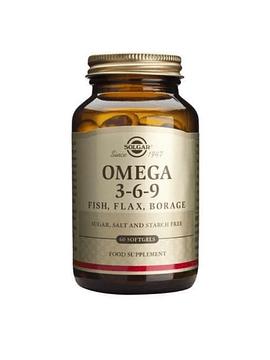 Solgar Omega 3-6-9 60 Cápsulas