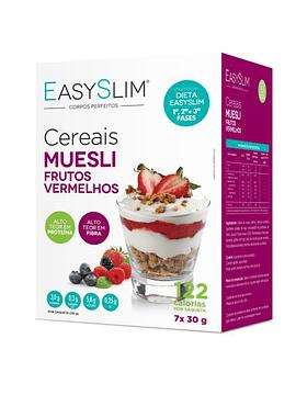 EasySlim Cereais Muesli Frutos Vermelhos 7x 30 Grs