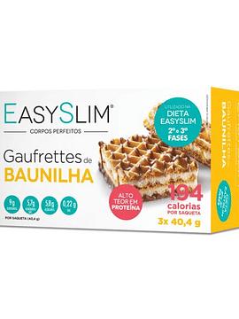 EasySlim Gaufrettes de Baunilha 3x 40,4 Gramas