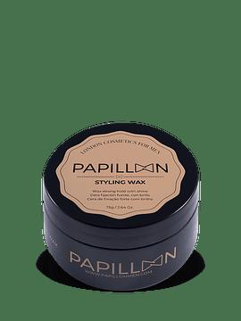 Papillon STYLING WAX Cera Fixação Forte Com Brilho 75 G