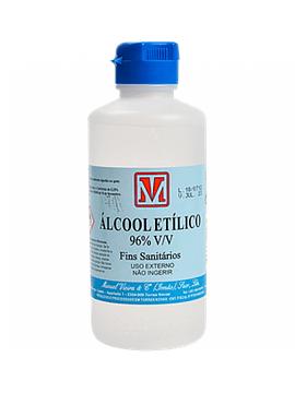 Álcool Etílico 96%  250 Ml