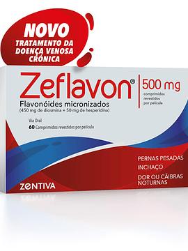 Zeflavon Flavonóides 500 Mg x60 Comprimidos