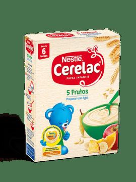 Nestlé Cerelac 5 Frutos 6m+  250 G