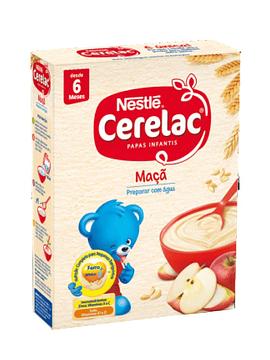 Nestlé Cerelac Farinha Láctea Maçãs 6m+  250 G
