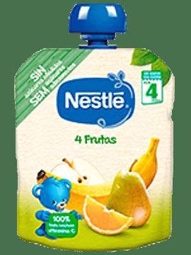 Nestlé Pacotinho 4 Frutas 4m+   90G