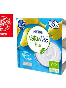 Nestlé Naturnes Bio Pêra+Banana 6m+ 4 x 90G