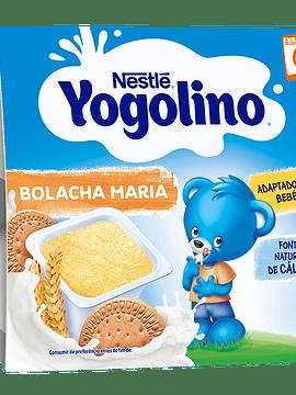 Nestlé Yogolino Cereais Bolacha Maria 6m+ 4x100G