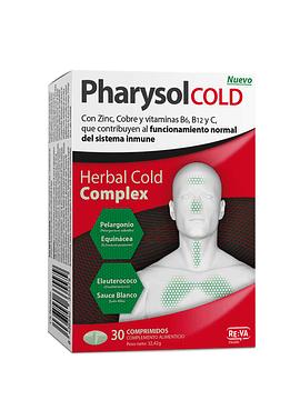 Pharysol Cold Herbal Cold Complex para Sistema Imunitário x30 Comprimidos