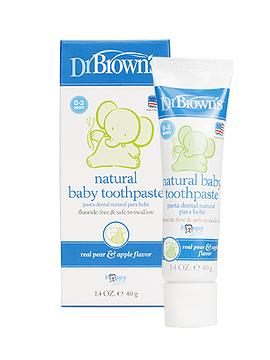 Dr Brown's Pasta de Dentes Natural Pêra-Maçã 40G