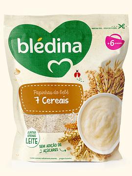 Blédina Farinha Papinhas do Bebé  7 Cereais 200G