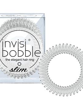 Invisibobble Slim Elástico Cabelo Transparente x3 Unidades
