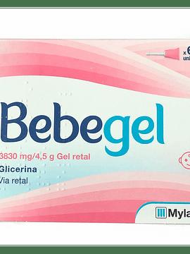 Bebegel, 3830mg/4,5g Gel Retal x6 Bisnagas
