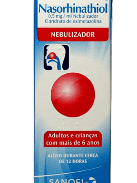Nasorhinathiol, 0,5 mg/mL-15 mL x 1 solução nasal conta-gotas