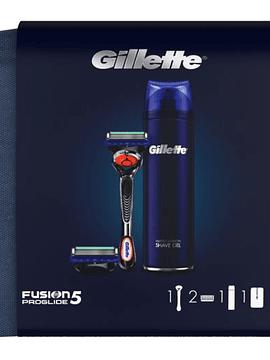 Gillette Coffret Fusion 5 Proglide Bolsa de Viagem