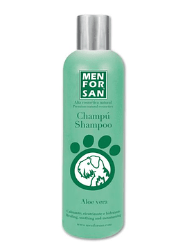 Men for San Shampoo Natural Aloé Vera Cães 300ml