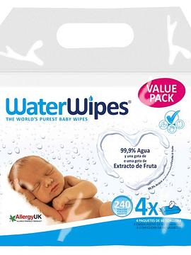 WaterWipes Toalhitas 4x60 Un.