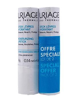 Uriage Duo Stick Labial Hidratante Preço Especial 2x4gr