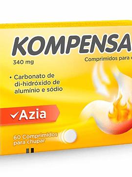 Kompensan, 340 mg  x60 comprimidos mastigáveis