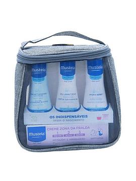 Bolsa Mustela Indispensáveis Azul