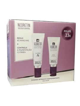 Neoretin Pack Gel Creme Despigmentante SPF50 40ml + Sérum Despigmentante 30m