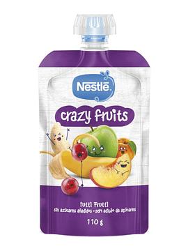 Nestlé Crazy Fruits Tutti Frutti 12M+ 110g