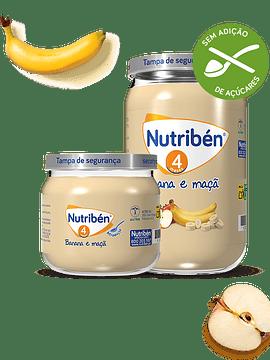Nutribén Boião 4 Banana e Maçã 120g