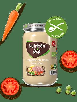 Nutriben Bio Boião Legumes Horta Perú 235g