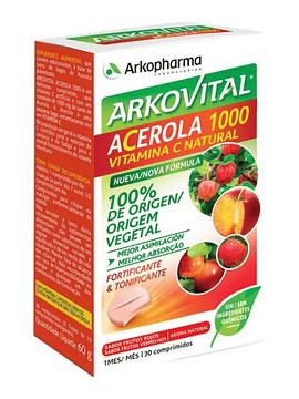 Arkovital Acérola 1000 15 Comprimidos