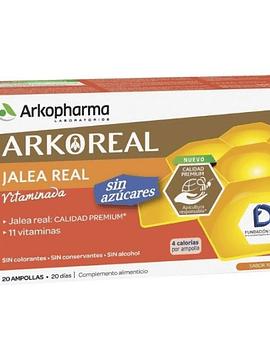 Arkopharma Geleia Real Arkoreal Sem Açúcar 20 Ampolas