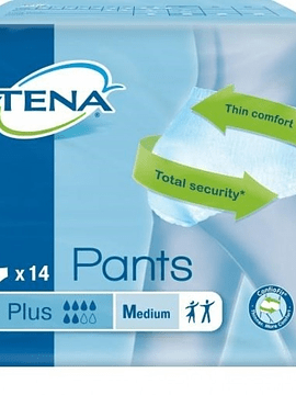 Tena Pants Cueca Plus M x14 Unidades