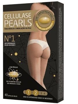 Cellulase Gold Pearls Celulite 40 Cápsulas