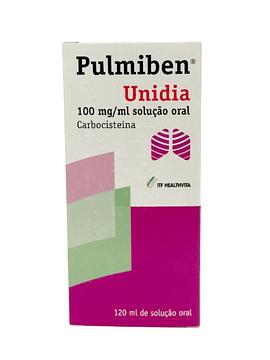 Pulmiben Unidia, 100 mg/mL x 1 solução oral frasco