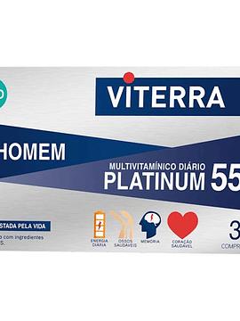 Viterra Platinum 55+ Homem x30 Comprimidos