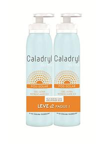 Caladryl Derma Ice Duo Gel Ultra Refrescante Pós-solar 2x150ml