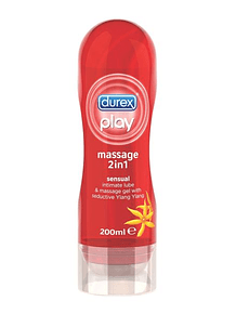 Durex Play Massage 2 em 1 Gel Lubrificante Ylang Ylang 200ml