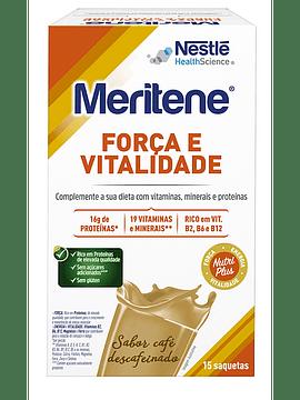 Meritene Café Descafeinado Carteira Pó x15 Saquetas