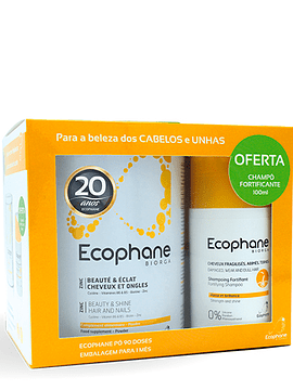 Ecophane Biorga Pó 318 g + Champô Fortificante 100 ml