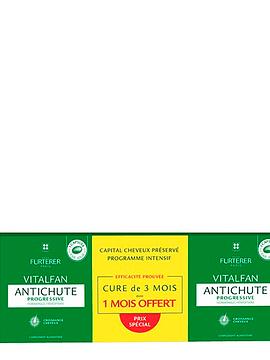 René Furterer Vitalfan Antiqueda Trio cápsulas Queda Progressiva 3 x 30 Unidades