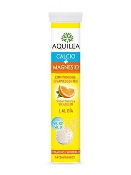 Aquilea Calcio + magnésio Comprimido Efervescente  Laranjanja x14 Comprimidos