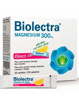 Biolectra Magnésio Saquetas Direct X 20 pó solução oral