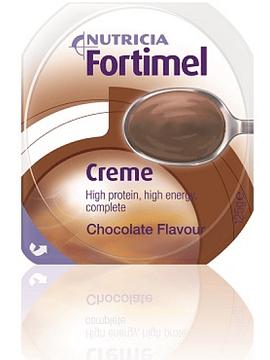 Fortimel Creme Chocolate Pack de 4 pudins, com 125g cada.