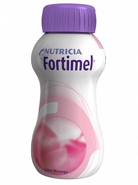 Fortimel Morango Pack de 4 garrafas com 200 ml cada.