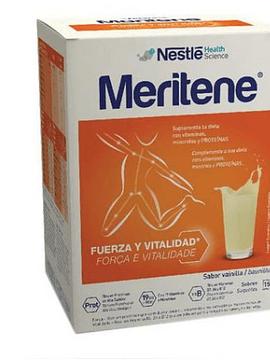 Meritene Baunilha Carteira Pó X 15 pó saquetas