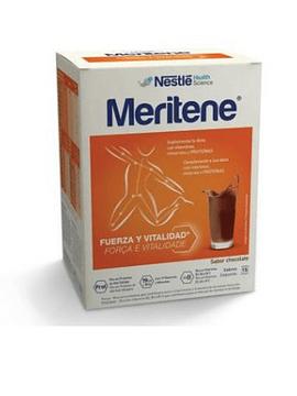 Meritene Chocolate Carteira Pó X 15 pó saqueta