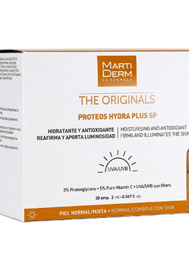Martiderm The Originals Proteos Hydra Plus SP x10 Ampolas