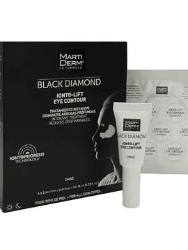 MartiDerm Black Diamond Ionto-Lift Contorno de Olhos 4x2 Patches + Gel (4 Ml)